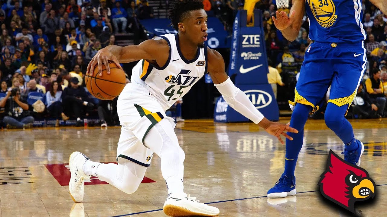 huge selection of 6e9f8 dc1d2 Draft Notes: Donovan Mitchell As Rosetta Stone - The Stepien